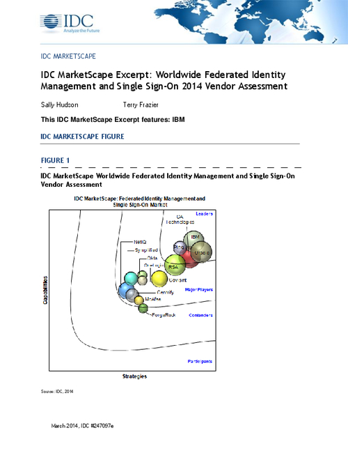 Worldwide Federated Identity Management and Single Sign-On