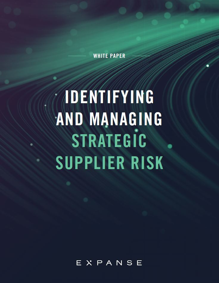 Identifying and Managing Strategic Supply Chain Risk
