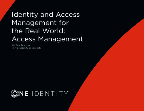The Real World: Identity and Access Management