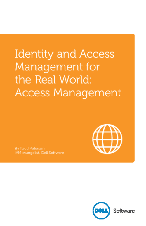 Identity and Access Management for the Real World: Access Management