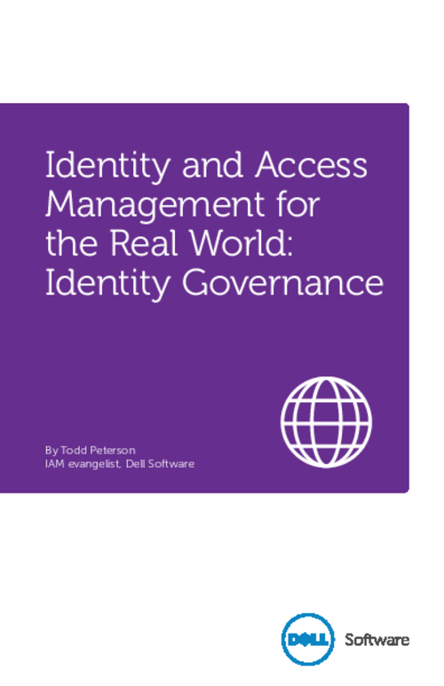 Identity and Access Management for the Real World: Identity Governance