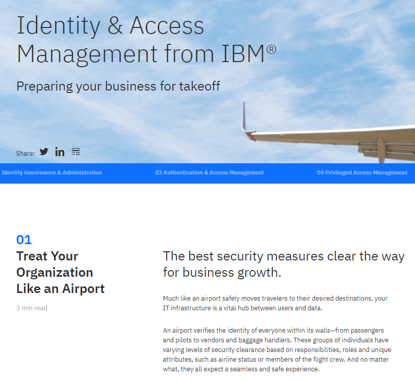 Identity & Access Management from IBM