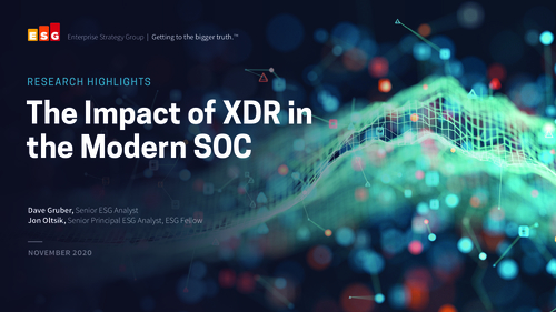 The Impact of XDR in the Modern SOC