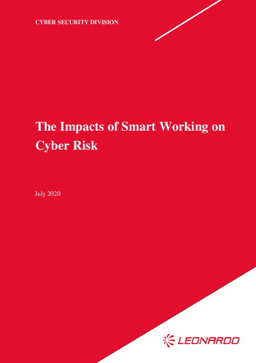 The Impacts of Smart Working on Cyber Risk