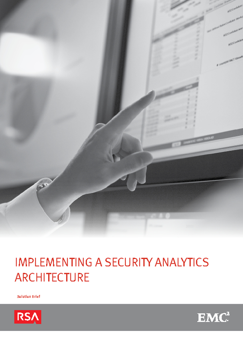 Implementing a Security Analytics Architecture