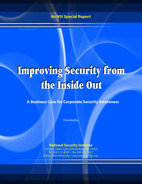 Improving Security from the Inside Out