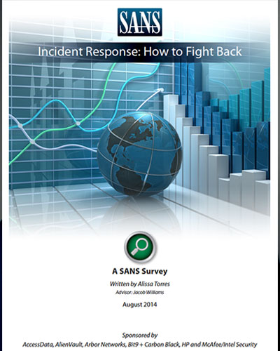 Incident Response: How to Fight Back, A SANS Survey