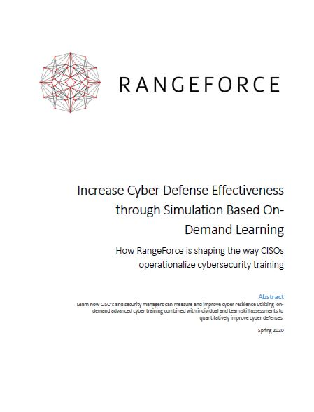 Increase Cyber Defense Effectiveness through Simulation-Based On-Demand Learning