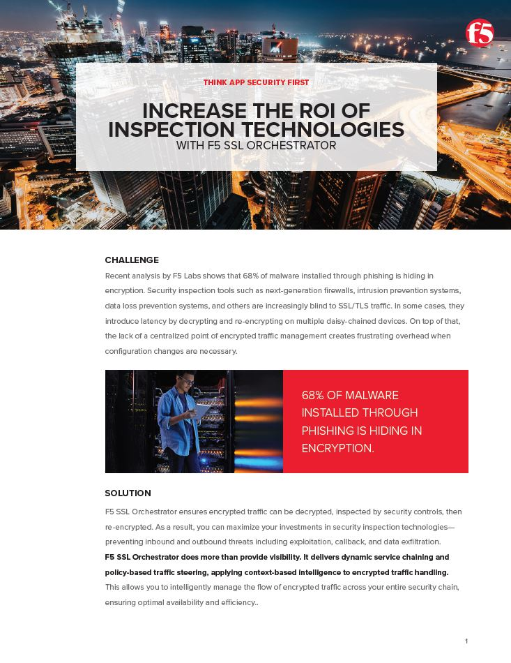 Increase the ROI of Inspection Technologies