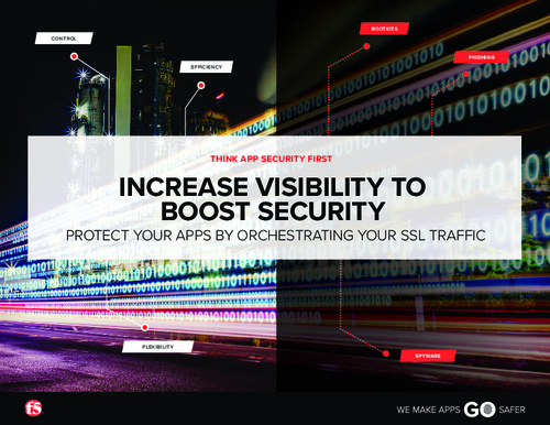 Increase Visibility to Boost Security: Protect your Apps by Orchestrating your SSL Traffic