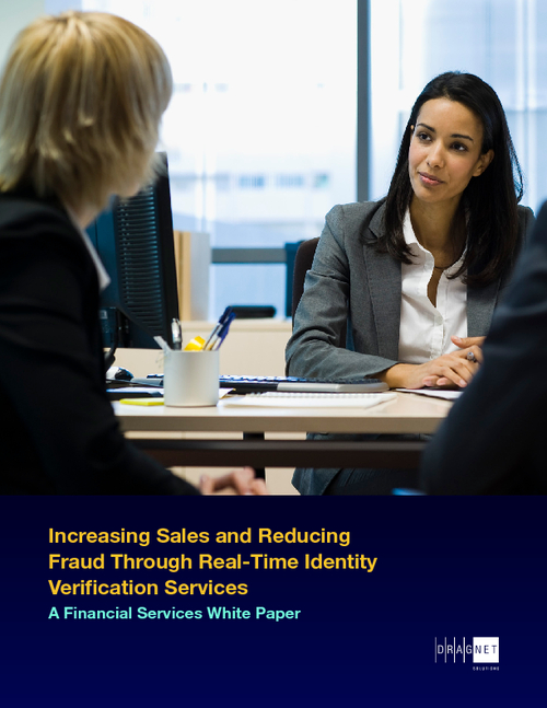 Increasing Sales and Reducing Fraud Through Real-Time Identity Verification Services
