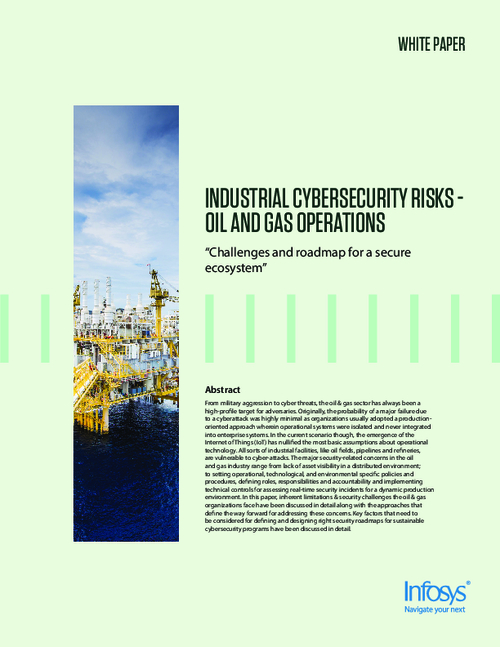 Industrial Cybersecurity Risks - Oil and Gas Operations
