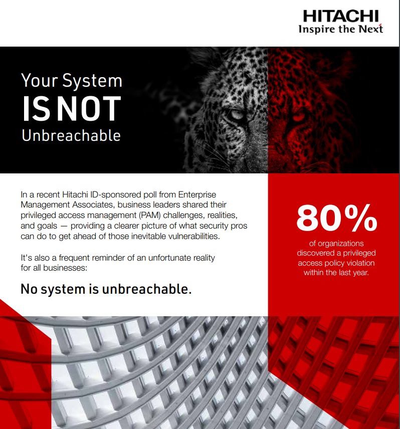 Infographic: Your System is Not Unbreachable