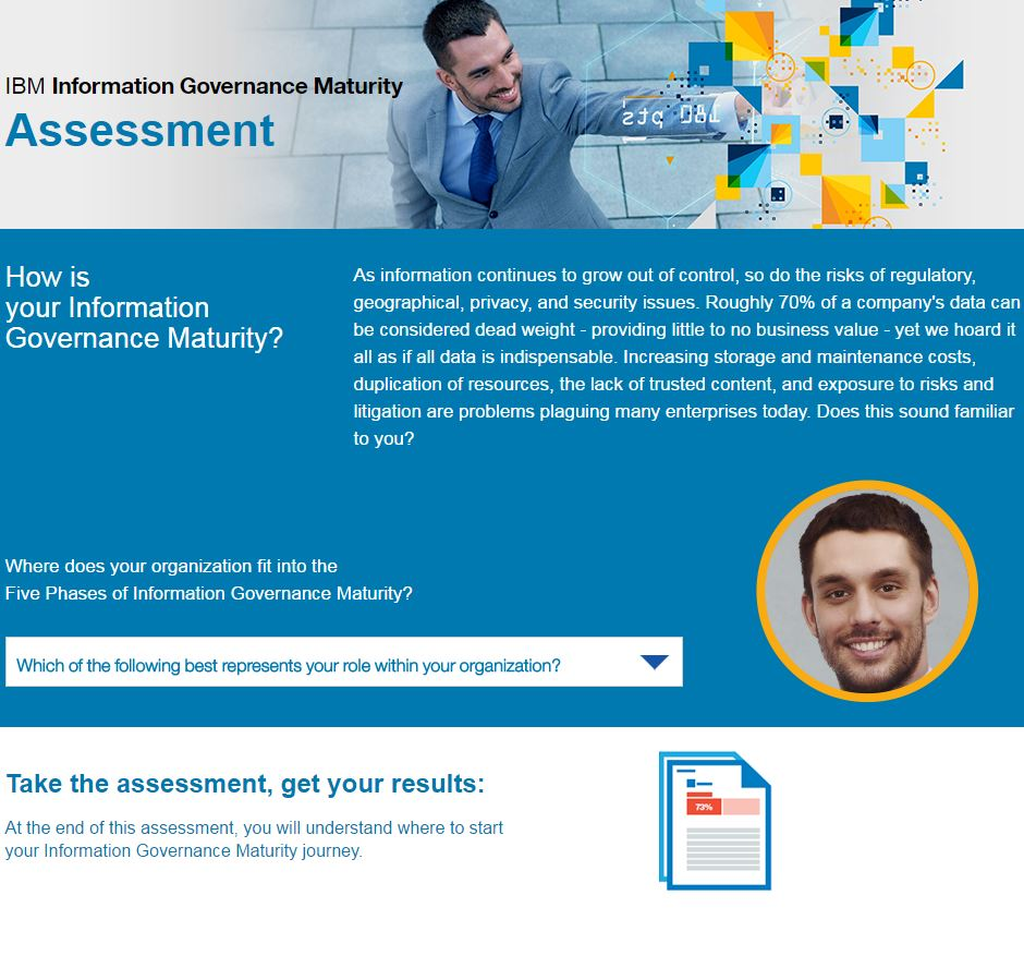 Information Governance Maturity Assessment