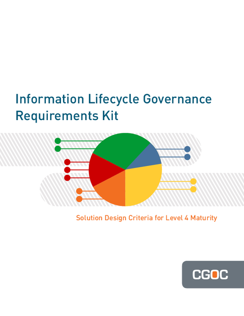 Information Lifecycle Governance Requirements Kit