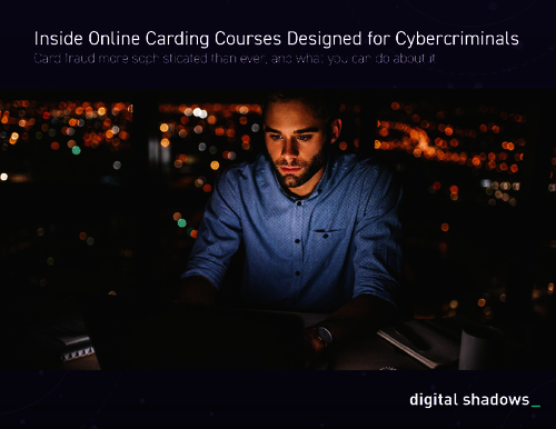 An Inside Look at Online Carding Courses for Cybercriminals