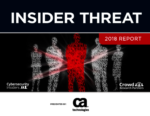 Insider Threat Report: 2018