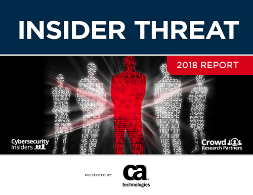 Insider Threat Report - Exclusive Peer Perspective, Strategies and Tactics