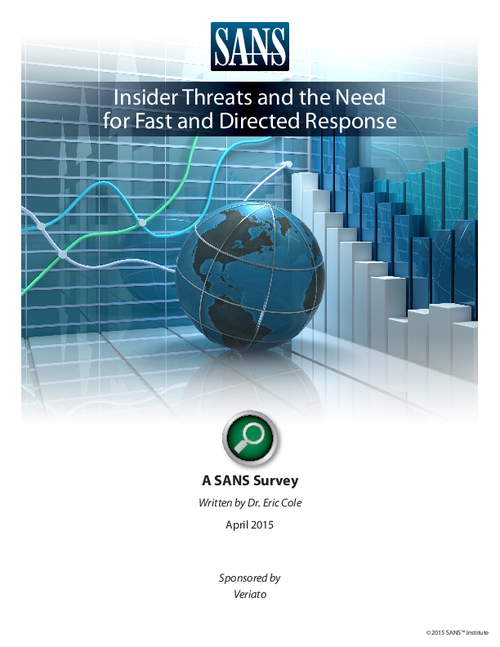 Insider Threats And The Need For Fast And Directed Response