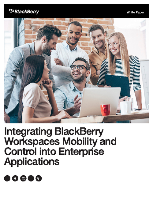 Integrating BlackBerry Workspaces Mobility and Control into Enterprise Applications