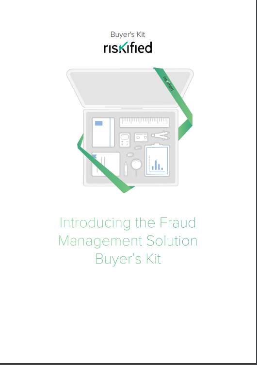 The Fraud Management Solution Buyer's Kit