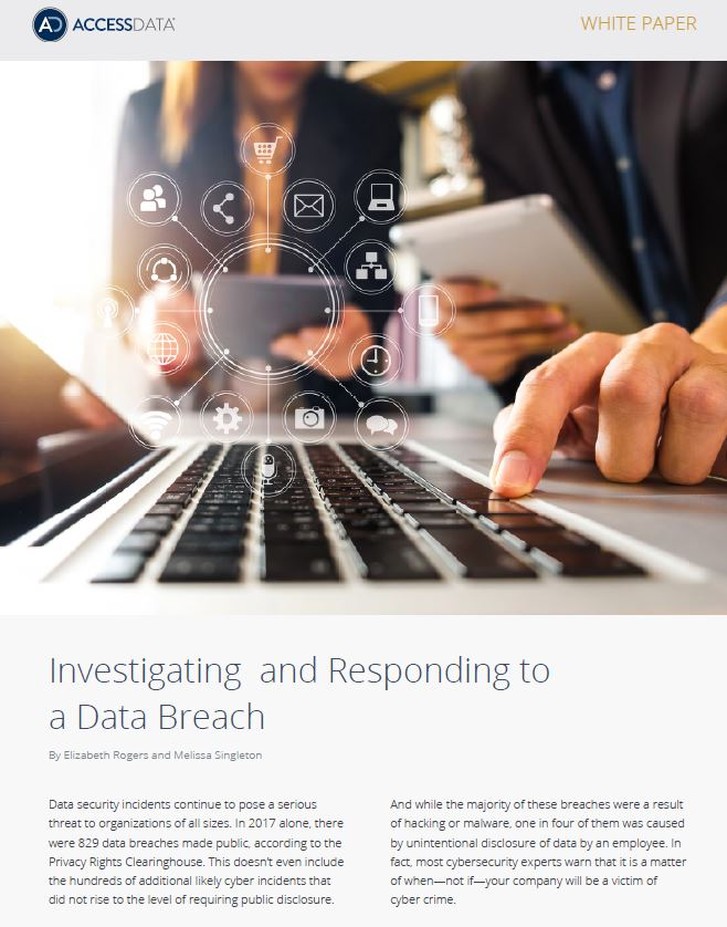 Investigating and Responding to a Data Breach