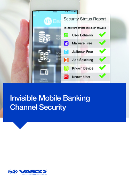 Invisible Mobile Banking Channel Security