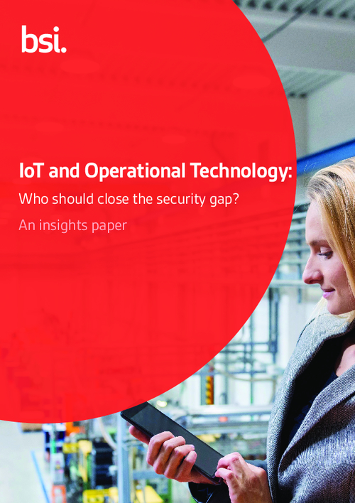 IoT and Operational Technology: Who Should Close the Security Gap?