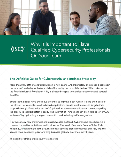 Why It Is Important to Have Qualified Cybersecurity Professionals On Your Team