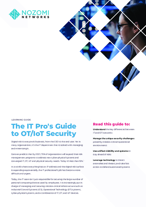The IT Pro's Guide to OT/IoT Security