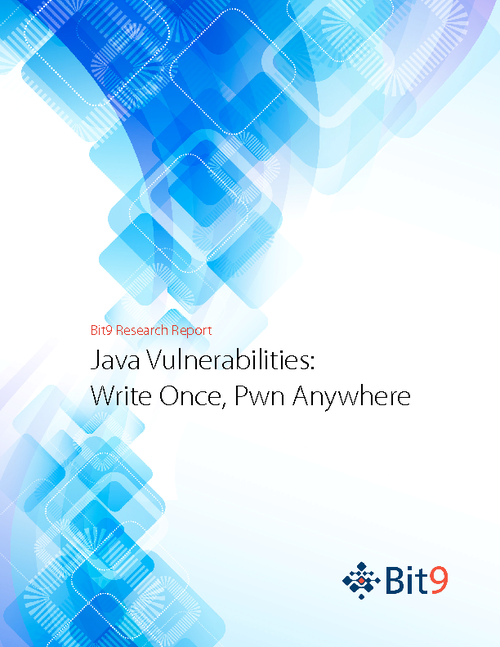 Java Vulnerabilities Report: Write Once, Pwn Anywhere