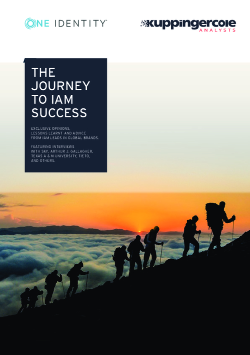 The Journey To IAM Success