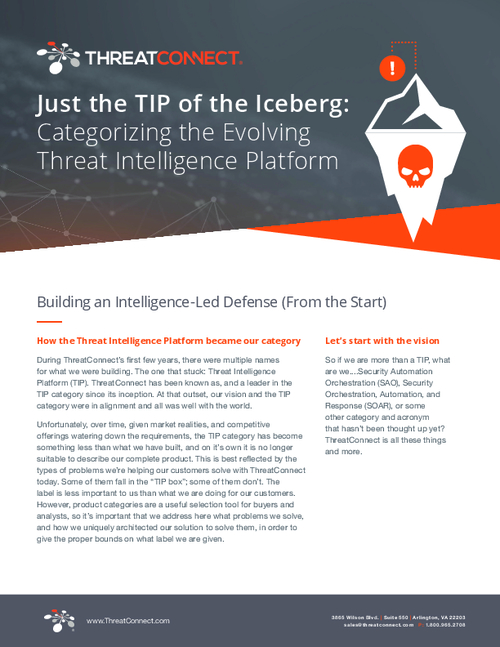 How Does The Evolving Threat Intelligence Platform Fit Into Your Cybersecurity Strategy?