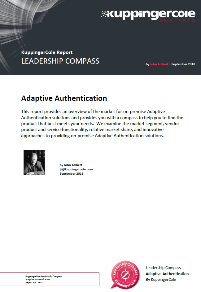 KuppingerCole Leadership Compass: Adaptive Authentication