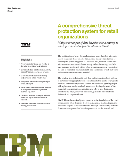 Leverage Security Intelligence for Retail