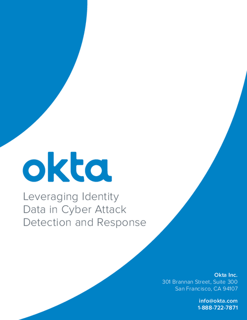 Leveraging Identity Data in Cyber Attack Detection and Response