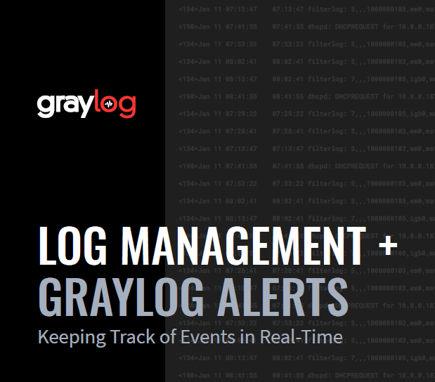 Log Management + Alerts: Understanding in Real-Time