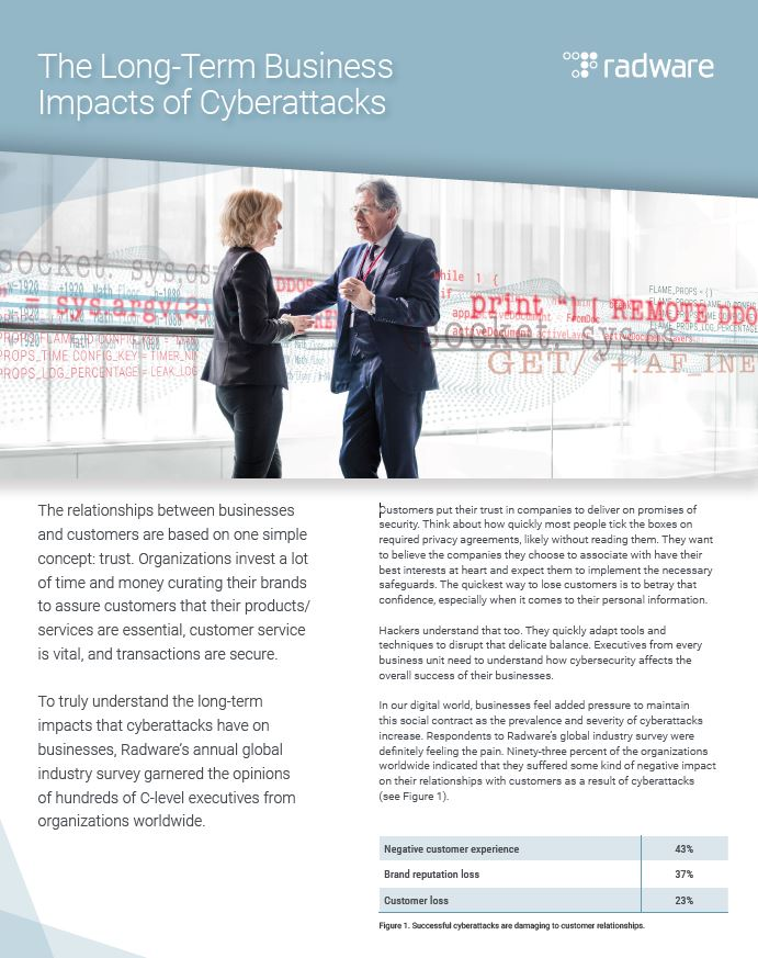 The Long-Term Business Impacts of Cyberattacks