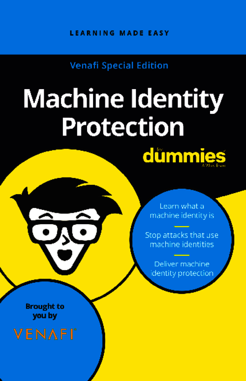Machine Identity Protection for Dummies eBook