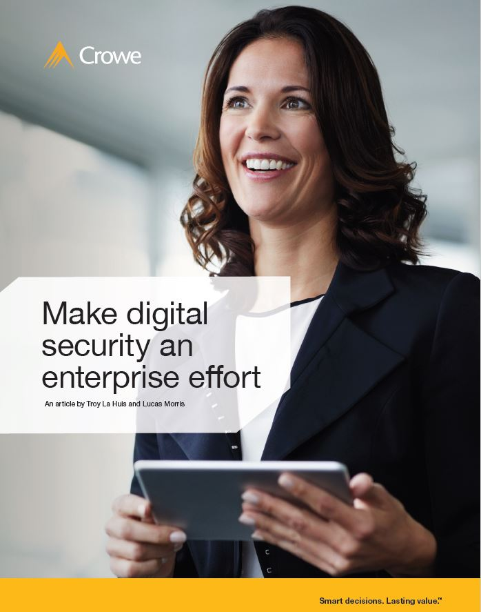 Make Digital Security an Enterprise Effort