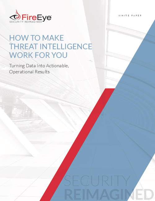 Make Threat Intelligence Work for You