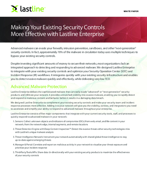 Make Your Existing Security Controls More Effective