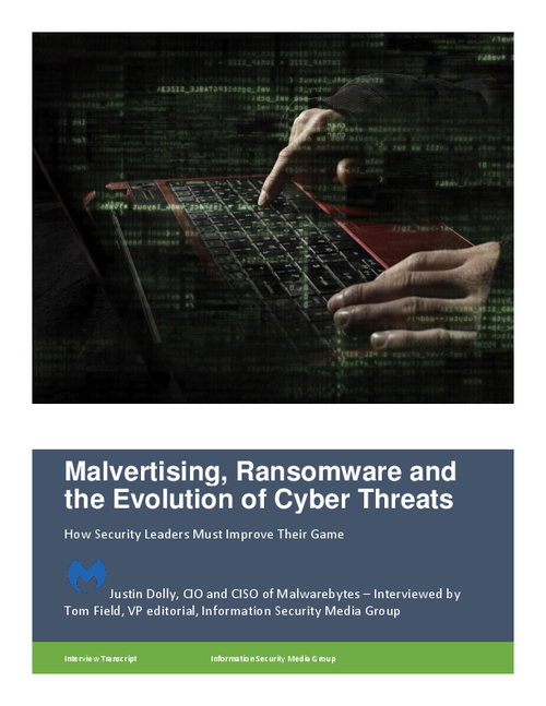 Malvertising, Ransomware and the Evolution of Cyber Threats