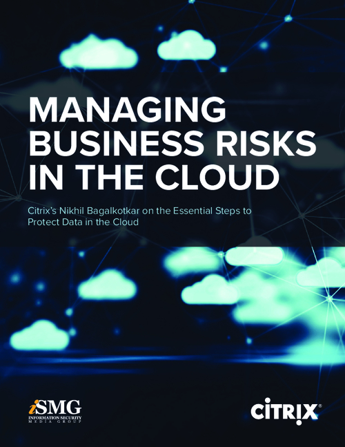 Managing Business Risks in the Cloud