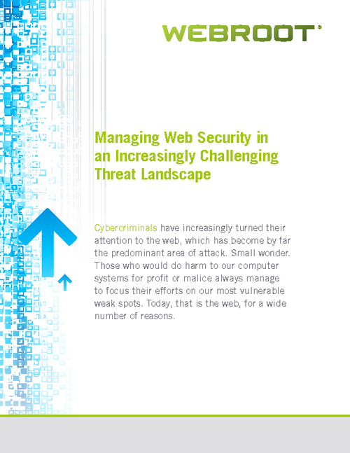 Managing Web Security in an Increasingly Challenging Threat Landscape