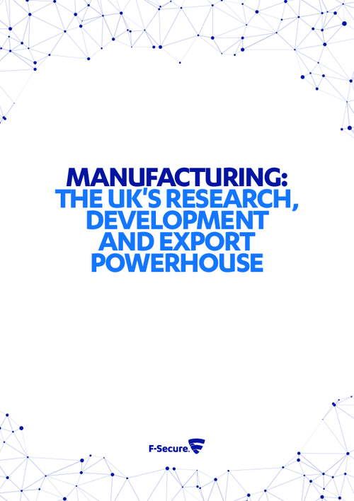 Manufacturing: The UK's Research, Development and Export Powerhouse