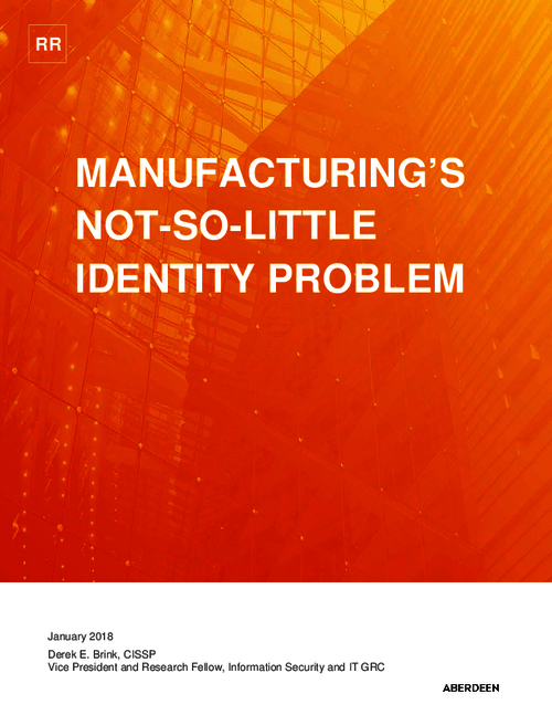 Manufacturing's Not-So-Little Identity Problem