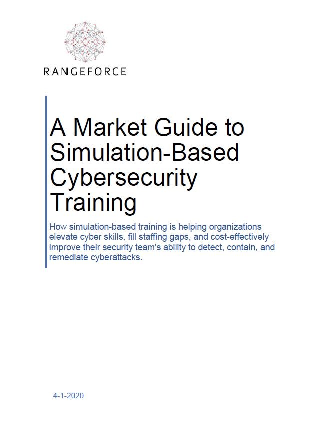 A Market Guide to Simulation-Based Cybersecurity Training