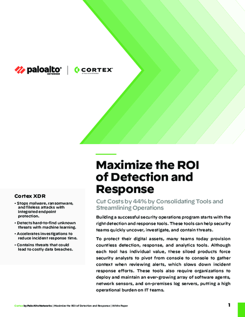 Maximize the ROI of Detection and Response