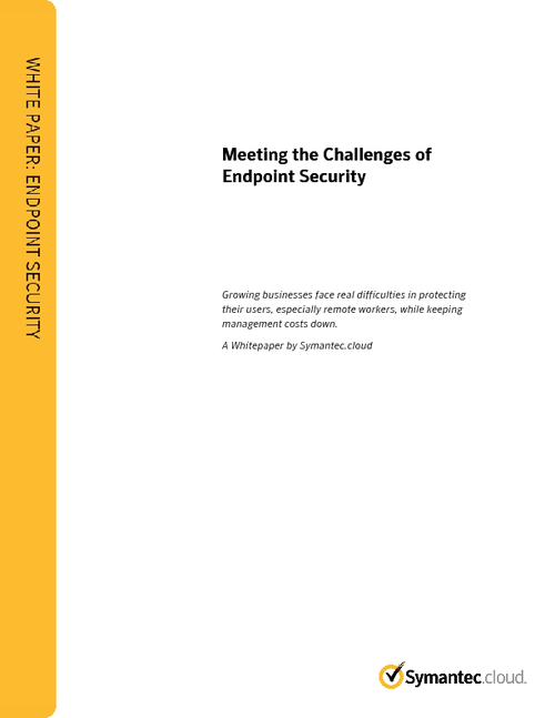 Meeting the Challenges of Endpoint Security